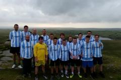Delabole United AFC 2015-16 Training at Rough Tor