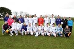 Les Cory Memorial Match Veterans V First Team 2012