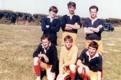 Delabole United AFC 6 a side Team 1977